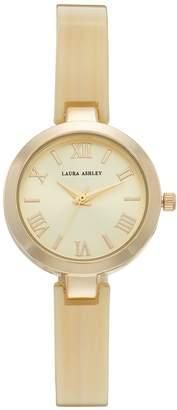 Laura Ashley Women's Half-Bangle Watch
