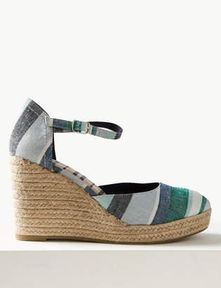 Marks and Spencer Wedge Heel Almond Toe Espadrilles