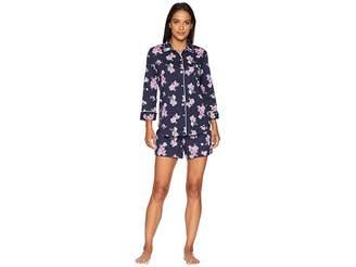 Lauren Ralph Lauren Rounded Collar Boxer Pajama Set
