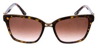 Chopard Gradient Crystal-Trimmed Sunglasses