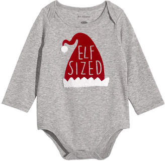 First Impressions Baby Boys & Girls Elf Sized Bodysuit, Created for Macy's