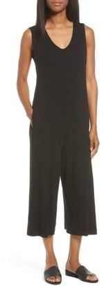 Women's Eileen Fisher Jersey Jumpsuit $218 thestylecure.com