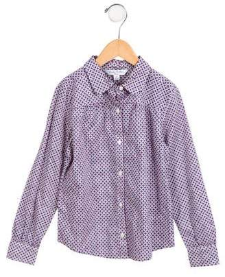 Brooks Brothers Boys' Printed Button-Up Shirt