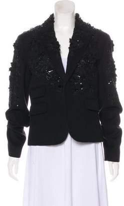 DSQUARED2 Wool Embellished Blazer