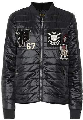 Polo Ralph Lauren Appliquéd quilted jacket