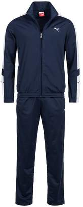 Puma Mens Tracksuit Soccer Training Suit Poly Track Top Pants Suit Navy 819298 (S)