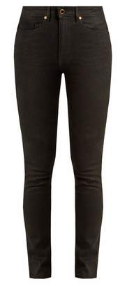 Khaite - Vanessa High Rise Skinny Leg Jeans - Womens - Black