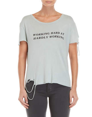 Wildfox Couture Sage Hardly Working Tee