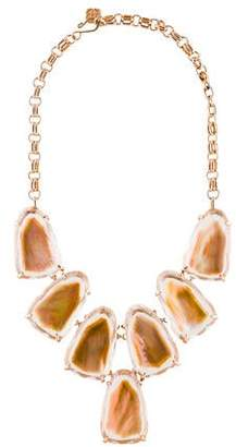 Kendra Scott Harlow Crystal & Mother of Pearl Statement Necklace