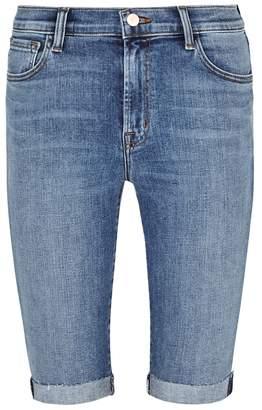 J Brand 811 Blue Skinny Shorts