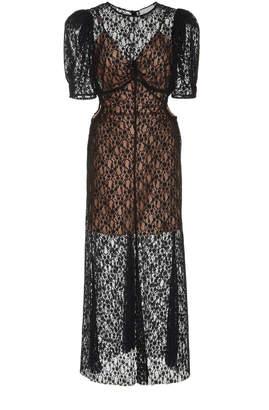 Alice McCall On + On Leavers Lace Midi Dress