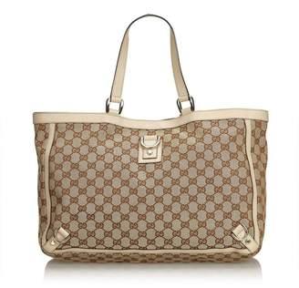 e1cb89b3d6e Gucci Vintage Gg Abbey-D Ring Tote Bag