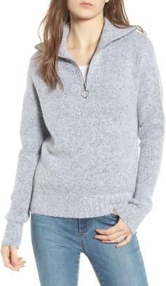Love By Design Quarter Zip Sweater