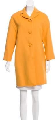 Prada Virgin Wool-Blend Coat