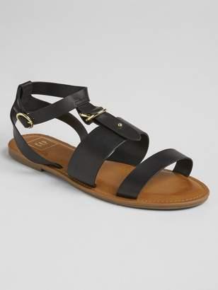 Gap Strappy Buckle Sandals