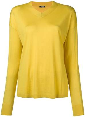 Aspesi fine knit V-neck sweater