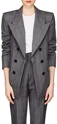 Etoile Isabel Marant Women's Iliane Checked Cotton-Blend Blazer