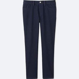 Uniqlo Women's Denim Cropped Leggings Pants