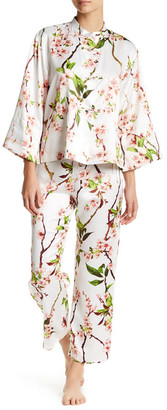 Natori Blossom 2-Piece PJ Set $180 thestylecure.com