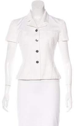 Chanel Fitted Short Sleeve Jacket