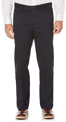 Savane Flat Front Pants-Big and Tall