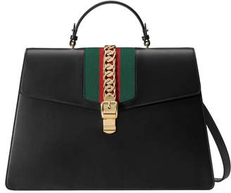 Gucci Sylvie leather duffle bag