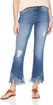 William Rast Women's Crop Flare Jean