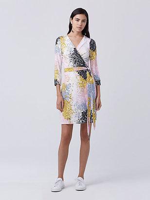 New Julian Two Mini Wrap Dress $398 thestylecure.com