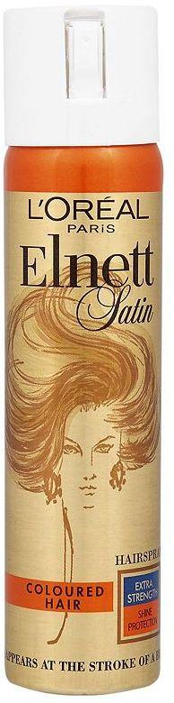 L'Oreal Elnett Satin Extra Strength Hairspray for Coloured Hair
