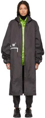 A-Cold-Wall* Black Nylon Storm Coat