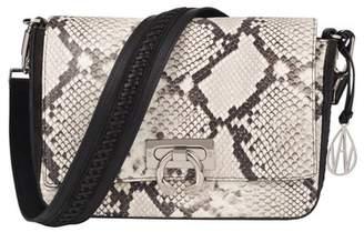 Amanda Wakeley Natural Python Roberts Handbag