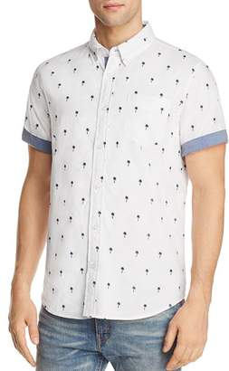 Jachs NY Palm Tree Regular Fit Button-Down Shirt - 100% Exclusive