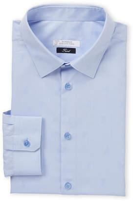 Versace Logo Insignia Dress Shirt