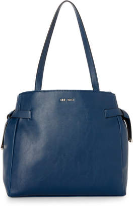 Nine West Rodeo Blue Anaelle Medium Tote