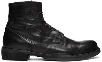 Officine Creative Black Ikon 18 Boots