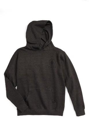 Boy's Volcom Burnt Fleece Hoodie $45 thestylecure.com