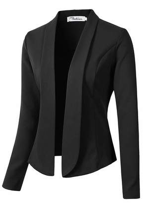 c5a283dd409 Kongsta Fashion Autumn Women Blazers and Jackets Work Office Lady Suit Slim  None Button Business Female