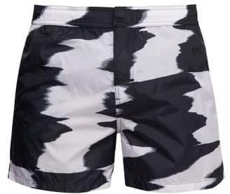 Missoni Mare - Tie Dye Swim Shorts - Mens - Black White