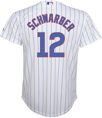 Majestic MajesticKyle Schwarber Chicago Cubs Replica Jersey, Big Boys (8-20)