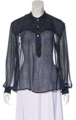 Etoile Isabel Marant Emana Silk Blouse w/ Tags