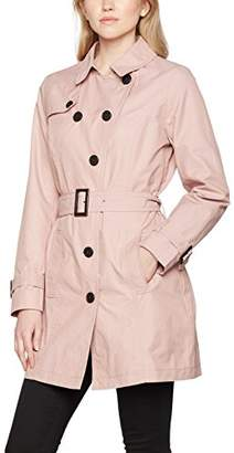 Tom Tailor Women's Modern Trench Coat,(Manufacturer Size: L)