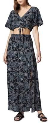 Sanctuary Phoenix Two-Piece Maxi Dress
