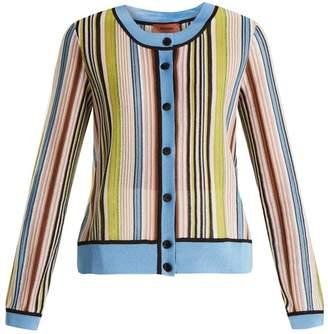 Missoni Striped round-neck cardigan