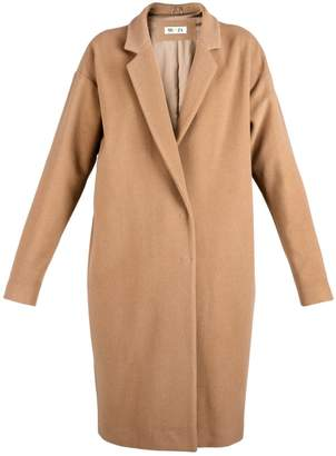 Blend of America MUZA - Camel Wool & Cashmere Cocoon Coat