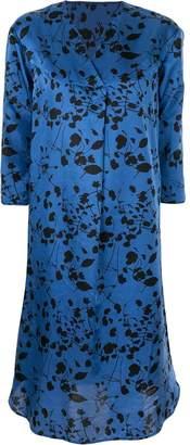 KNOTT floral print day dress