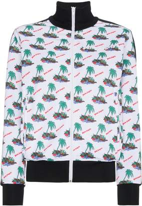 Palm Angels Palm print sports jacket