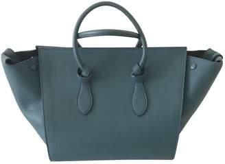 Celine Tie leather handbag
