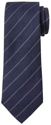 Banana Republic Double Pinstripe Linen-Silk Nanotex® Tie