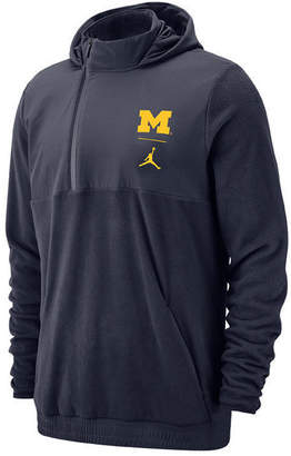 Jordan Men Michigan Wolverines Therma Sphere Max Jacket