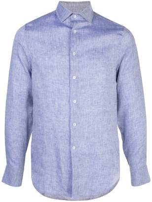 Frescobol Carioca long-sleeve fitted shirt
